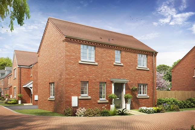 "Thumbnail Detached house for sale in ""The Clayton Corner "" at Brickburn Close, Hampton Centre, Peterborough"