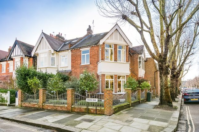 Thumbnail Semi-detached house for sale in Madrid Road, Barnes, London