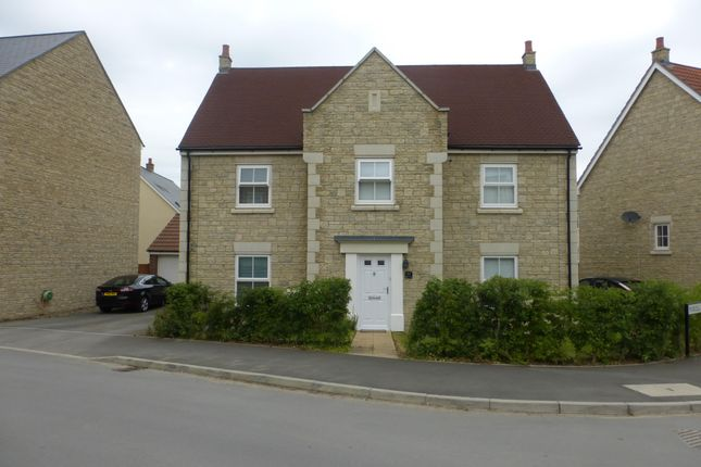 Thumbnail Detached house to rent in Dyson Road, Blunsdon, Swindon