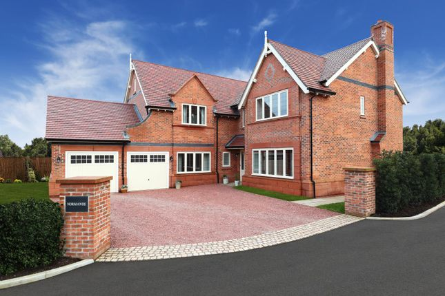 Thumbnail Detached house for sale in The Normande At Stretton Green, Stretton Green, Tilston, Cheshire