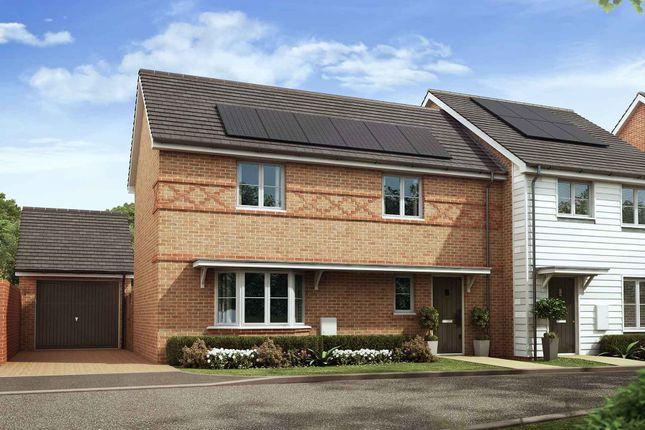 Thumbnail Semi-detached house for sale in Nugent Close, Church Crookham, Fleet
