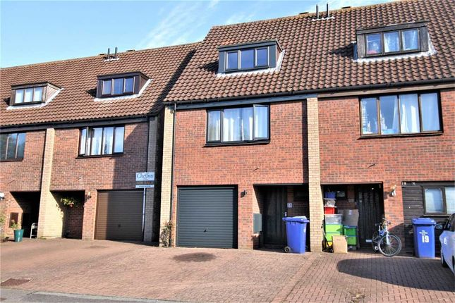 Thumbnail Terraced house to rent in Armstrong Close, Newmarket