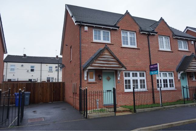 Thumbnail Semi-detached house to rent in Hanson Road, Manchester