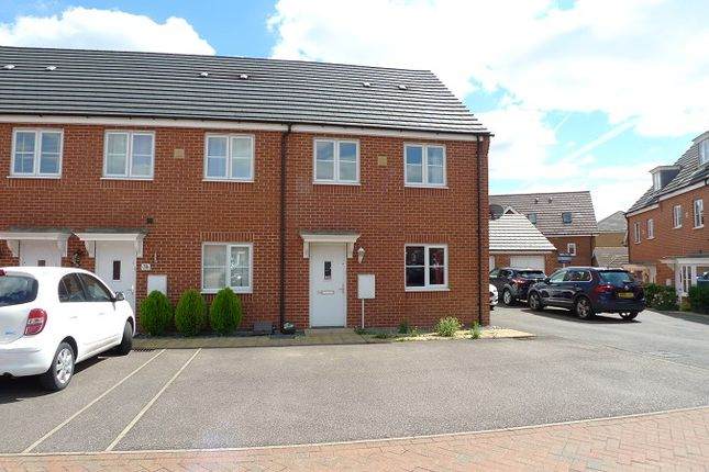 Thumbnail End terrace house to rent in Venus Way, Peterborough, Cambridgeshire.