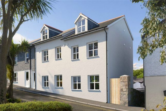 Thumbnail Flat for sale in New Windsor Terrace, Falmouth, Cornwall