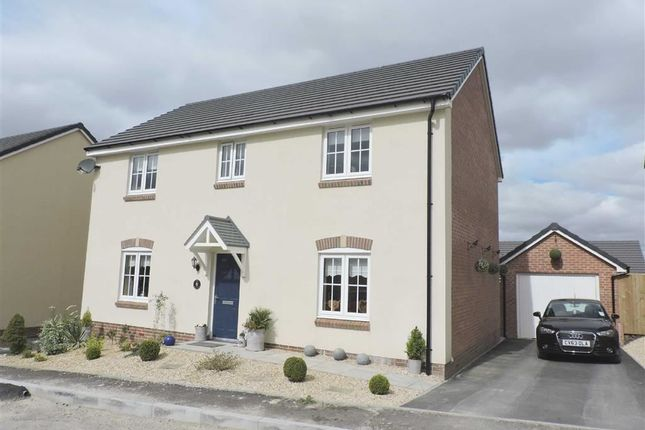 Thumbnail Detached house for sale in Emily Fields, Birchgrove, Swansea