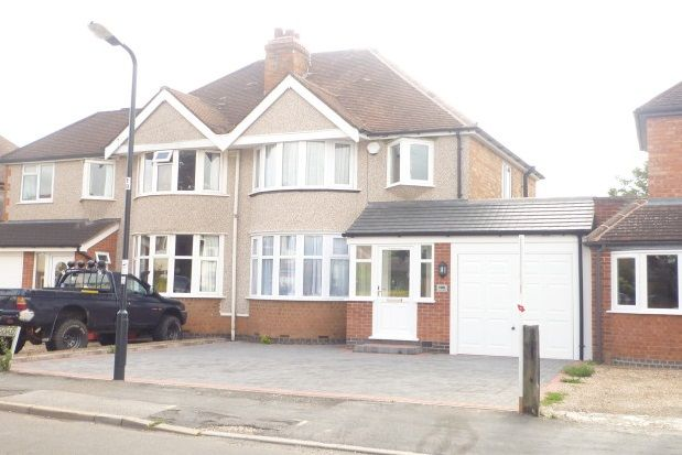 Thumbnail Semi-detached house to rent in Kinross Road, Leamington Spa