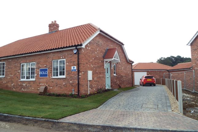Thumbnail Semi-detached bungalow to rent in Househams Lane, Legbourne, Louth