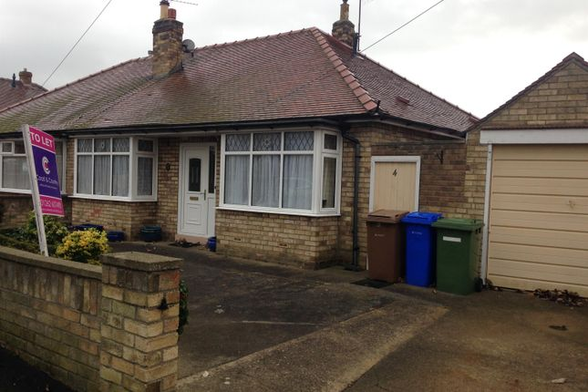 Thumbnail Bungalow to rent in Omega Road, Bridlington