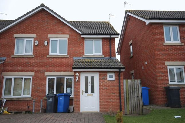 Thumbnail Semi-detached house to rent in Chestnut Way, Widdrington, Morpeth