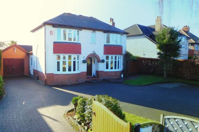 Thumbnail Detached house for sale in Crewe Road, Wistaston, Crewe