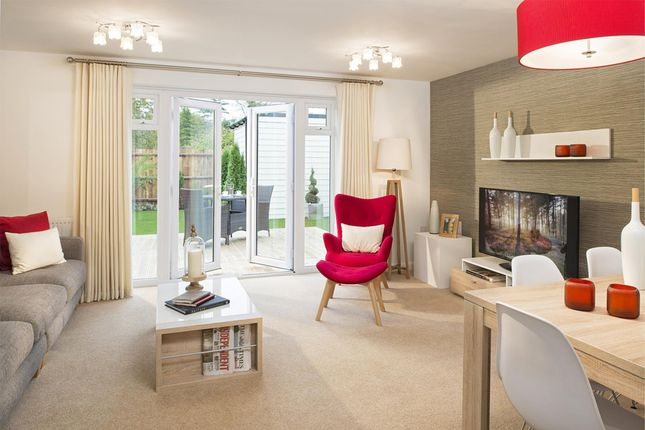 """Thumbnail Semi-detached house for sale in """"Willow"""" at Laurels Road, Offenham, Evesham"""