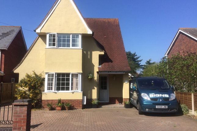 Thumbnail Detached house for sale in Tower Road, Wivenhoe, Colchester
