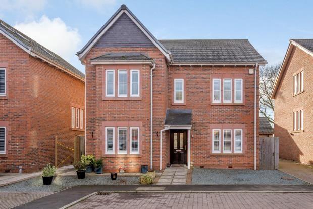 Detached house for sale in Chester Road, Nomans Heath, Malpas