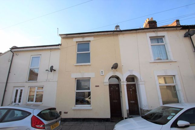 Thumbnail Terraced house to rent in Cleveland Road, Southsea
