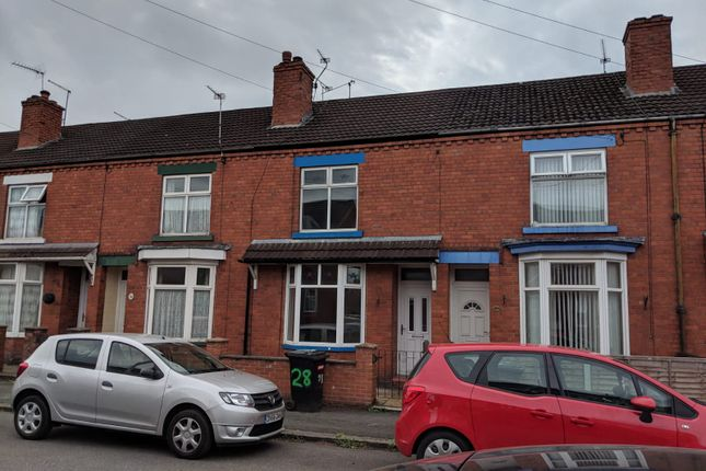 Thumbnail Terraced house to rent in St.Clar Street, Crewe