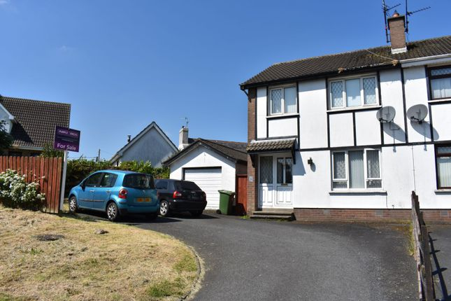 Thumbnail Semi-detached house for sale in Moss Road, Waringstown