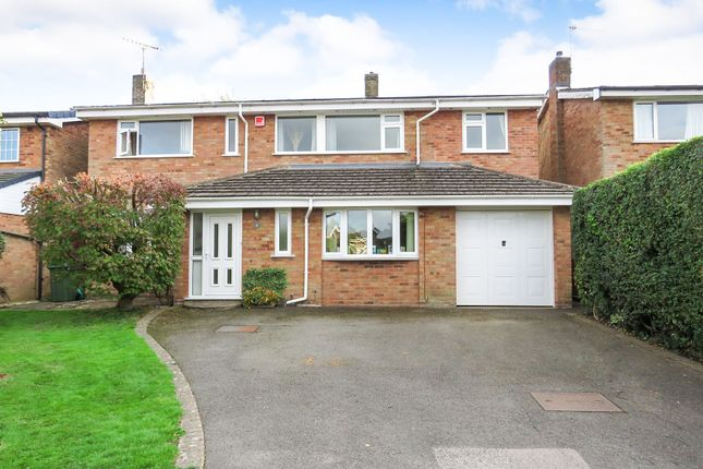 Thumbnail Detached house for sale in Woods Close, Oadby, Leicester
