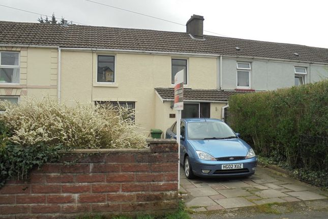 Thumbnail Terraced house for sale in Nant Row, Aberdare