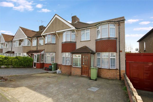 Thumbnail Semi-detached house for sale in Buckingham Avenue, South Welling, Kent