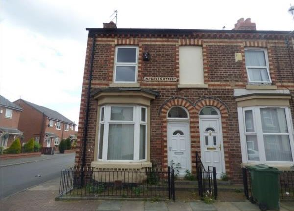 Thumbnail End terrace house for sale in 1 Paterson Street, Birkenhead, Merseyside