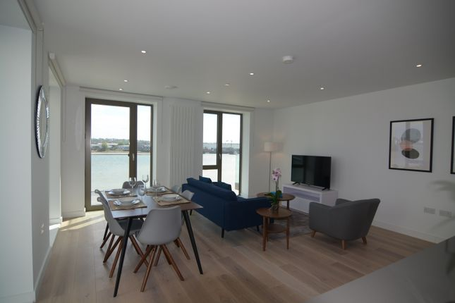 3 bed flat to rent in Laker House, Royal Wharf, 10 Nautical Drive, London