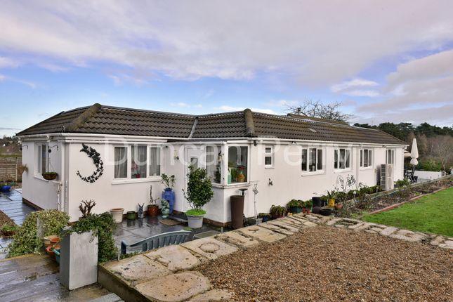 Thumbnail Detached bungalow for sale in Bluebridge Road, Brookmans Park, Herts