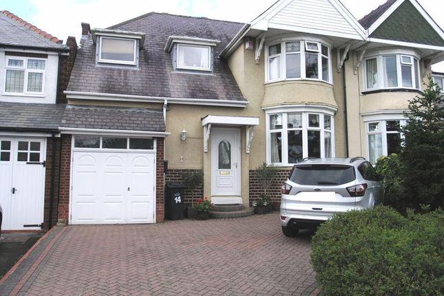 Thumbnail Semi-detached house for sale in Stennels Avenue, Halesowen