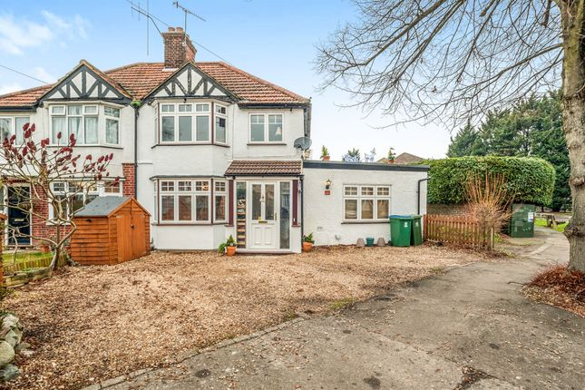 Thumbnail Semi-detached house for sale in Leggatts Way, Watford