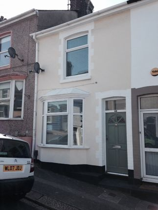 Thumbnail Terraced house to rent in Welsford Avenue, Stoke, Plymouth
