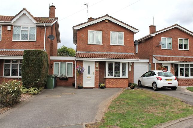 Thumbnail Detached house for sale in Lowry Close, Bedworth, Warwickshire