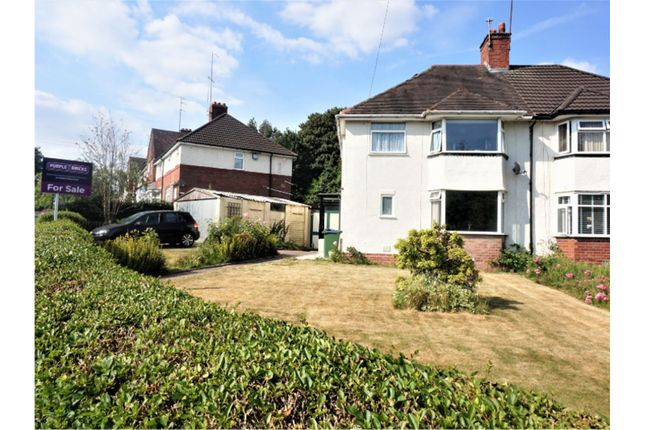 Thumbnail Semi-detached house for sale in Harvest Road, Smethwick