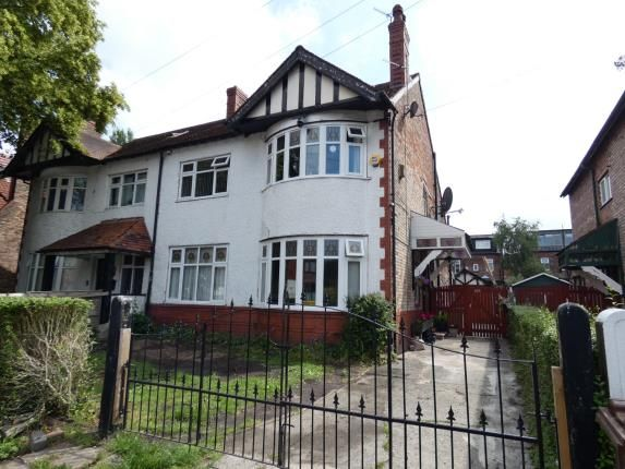 Thumbnail Semi-detached house for sale in Woodlands Road, Whalley Range, Manchester, Greater Manchester