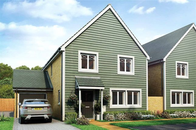 Thumbnail Link-detached house for sale in The Woodlands, Sandy Lane, Church Crookham