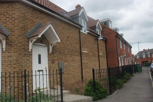 Thumbnail Terraced house to rent in Violet Way, Yaxley, Peterborough