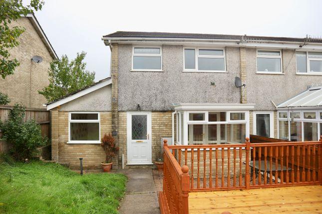 Thumbnail Semi-detached house for sale in Chepstow Close, Castle Park, Merthyr Tydfil