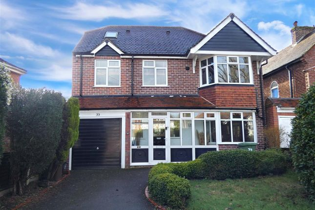 Thumbnail Detached house for sale in Bickenhill Road, Marston Green, Birmingham