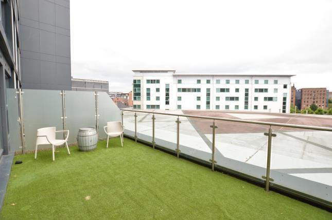 Terrace of Cartier House, The Boulevard, Leeds, West Yorkshire LS10