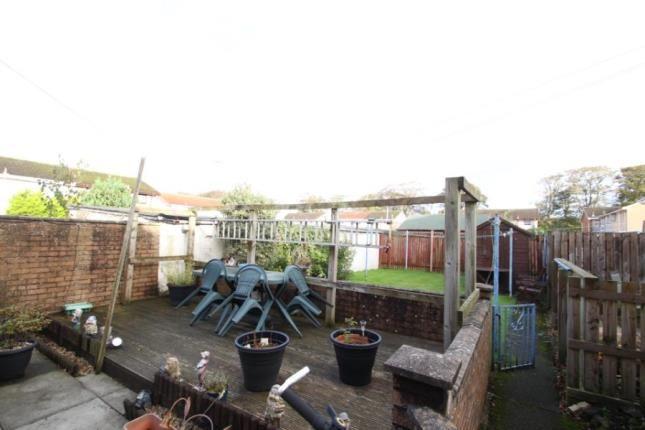 Rear Garden of Ravenscroft, Irvine, North Ayrshire KA12