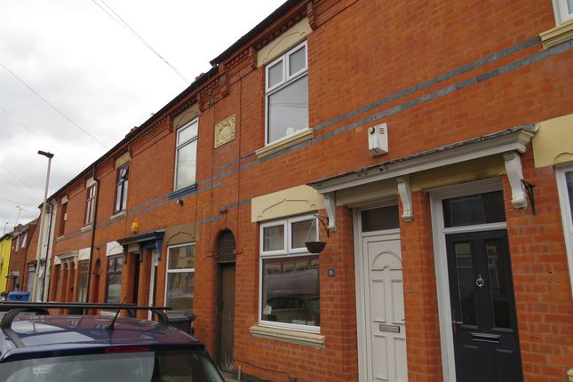 Thumbnail Terraced house for sale in Marshall Street, Woodgate, Leicester