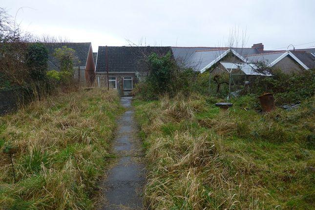 Garden of High Street, Ammanford, Carmarthenshire. SA18