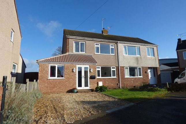 Thumbnail Semi-detached house for sale in Holmwood Close, Winterbourne, Bristol