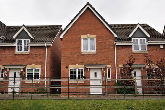 Thumbnail Semi-detached house for sale in Guillimot Grove, Perry Common, Birmingham