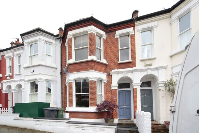 Thumbnail Flat for sale in Brayburne Avenue, Clapham, London