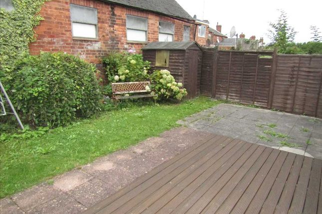 Garden of Wroughton Court, Eastwood, Nottingham NG16