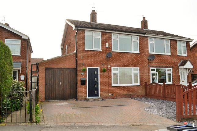 Thumbnail Semi-detached house for sale in New Lane, Huntington, York