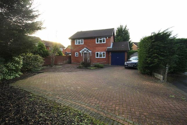Thumbnail Detached house for sale in The Avenue, Ingol, Preston