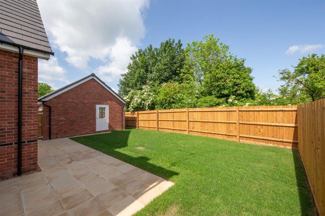 Rear Garden of Plot 18, The Larch, The Orchards LU6
