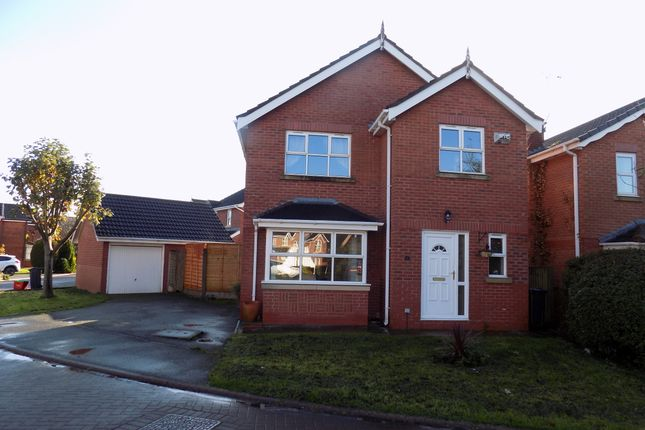 Thumbnail Detached house for sale in Priory Avenue, Northwich