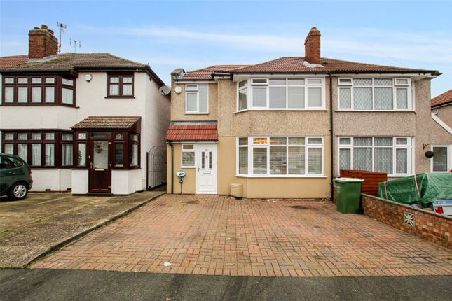 4 bed semi-detached house for sale in Fairwater Avenue, South Welling, Kent DA16